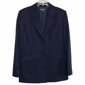 CLASSIQUES ENTIER Blazer Wool Navy FREE SHIPPING